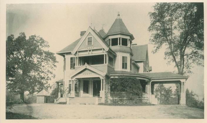 Dr. J. T. J. Battle House.  724 Guilford